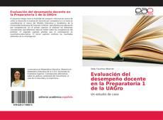 Portada del libro de Evaluación del desempeño docente en la Preparatoria 1 de la UAGro