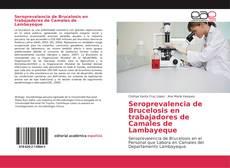 Seroprevalencia de Brucelosis en trabajadores de Camales de Lambayeque的封面
