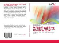 Bookcover of Fe/SBA-15 modificado con TiO2 y Al2O3 en la reacción de OCVH