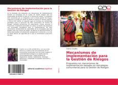 Copertina di Mecanismos de implementación para la Gestión de Riesgos