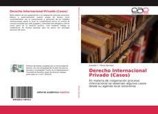 Portada del libro de Derecho Internacional Privado (Casos)