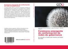 Bookcover of Fenómeno emergente de conformación de redes de gobernanza