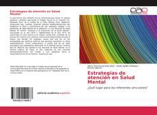 Bookcover of Estrategias de atención en Salud Mental