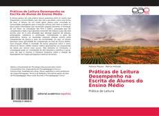 Capa do livro de Práticas de Leitura Desempenho na Escrita de Alunos do Ensino Médio