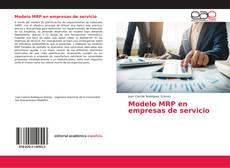 Capa do livro de Modelo MRP en empresas de servicio