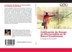 Bookcover of Calificación de Riesgo en Microcrédito en la Banca Ecuatoriana