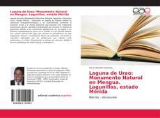 Portada del libro de Laguna de Urao: Monumento Natural en Mengua. Lagunillas, estado Mérida