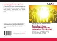 Buchcover von Características Sociodemográficas Laborales y Felicidad
