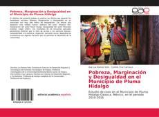 Обложка Pobreza, Marginación y Desigualdad en el Municipio de Pluma Hidalgo