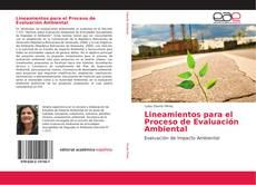 Portada del libro de Lineamientos para el Proceso de Evaluación Ambiental