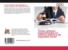 Portada del libro de Temas selectos especializados en materia laboral y de seguridad social