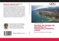 Portada del libro de Gestión de riesgos de desastres en Venezuela y América Latina
