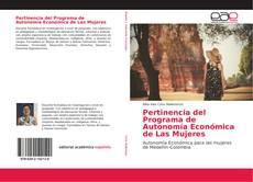 Bookcover of Pertinencia del Programa de Autonomía Económica de Las Mujeres