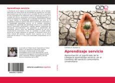 Buchcover von Aprendizaje servicio
