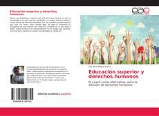 Buchcover von Educación superior y derechos humanos