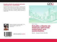 Portada del libro de Estudio y diseño de malecón aplicando materiales eco- sustentables