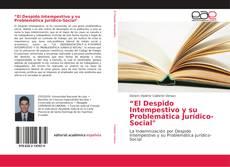 """Borítókép a  """"El Despido Intempestivo y su Problemática Jurídico-Social"""" - hoz"""