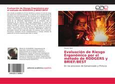 Portada del libro de Evaluación de Riesgo Ergonómico por el método de RODGERS y BRIEF/BEST
