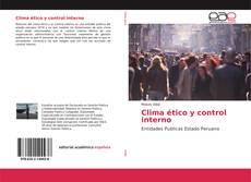 Bookcover of Clima ético y control interno