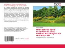 Portada del libro de Indicadores Socio económicos para evaluar estrategias de restauarción