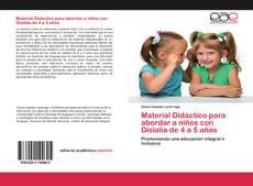 Buchcover von Material Didáctico para abordar a niños con Dislalia de 4 a 5 años