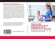 Обложка Interacción comunicativa de la enfermera en el cuidado de la persona