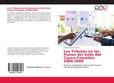 Bookcover of Los Tributos en las Pymes del Valle Del Cauca-Colombia. 2008-2009