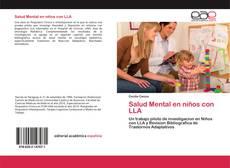 Portada del libro de Salud Mental en niños con LLA