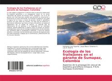 Portada del libro de Ecología de los frailejones en el páramo de Sumapaz, Colombia