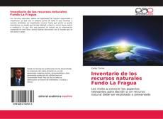 Capa do livro de Inventario de los recursos naturales Fundo La Fragua