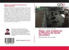 Buchcover von Hipia, una ciudad en la Meseta de Quito (Ecuador)