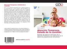Bookcover of Atención Temprana. Estado de la cuestión