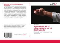 Portada del libro de Aplicación de la metodología en el taekwondo