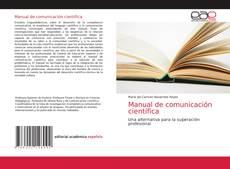 Portada del libro de Manual de comunicación científica