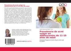 Prevalencia de acné vulgar en adolescentes de 11-19 años de edad的封面