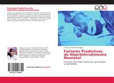 Bookcover of Factores Predictivos de Hiperbilirrubinemia Neonatal