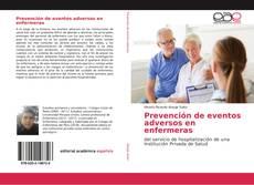 Couverture de Prevención de eventos adversos en enfermeras