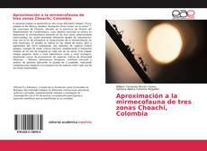 Portada del libro de Aproximación a la mirmecofauna de tres zonas Choachí, Colombia