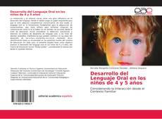 Обложка Desarrollo del Lenguaje Oral en los niños de 4 y 5 años