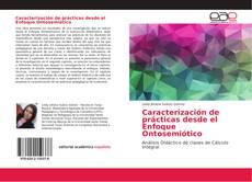 Capa do livro de Caracterización de prácticas desde el Enfoque Ontosemiótico