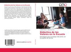 Capa do livro de Didáctica de los Valores en la Escuela