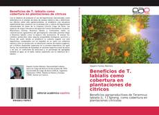 Portada del libro de Beneficios de T. labialis como cobertura en plantaciones de citricos