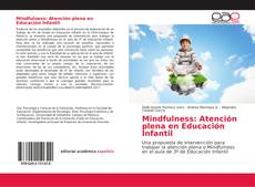 Copertina di Mindfulness: Atención plena en Educación Infantil
