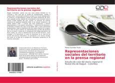 Portada del libro de Representaciones sociales del territorio en la prensa regional