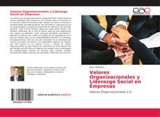 Couverture de Valores Organizacionales y Liderazgo Social en Empresas