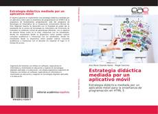 Capa do livro de Estrategia didáctica mediada por un aplicativo móvil