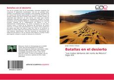 Portada del libro de Batallas en el desierto