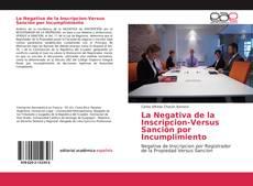 Capa do livro de La Negativa de la Inscripcion-Versus Sanción por Incumplimiento