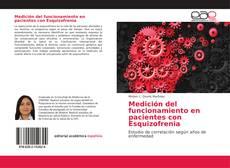 Portada del libro de Medición del funcionamiento en pacientes con Esquizofrenia