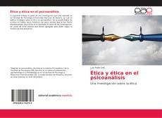 Bookcover of Ética en el Psicoanálisis